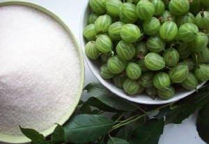 Варенье из крыжовника с вишневыми листьями царское (изумрудное) - 5 простых способов и самых лучших рецептов с фото пошагово