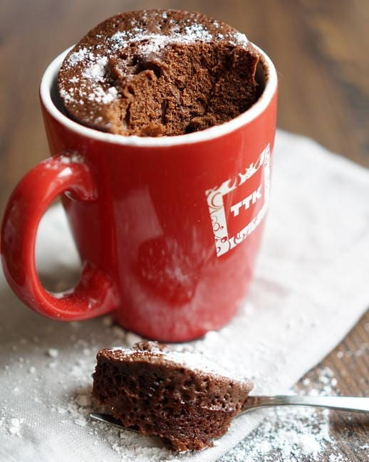 Кекс в микроволновке в кружке за 5 минут – 10 быстрых и простых рецептов с фото пошагово